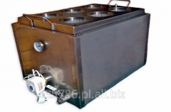 Steam preheating wax units
