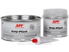 APP Alu Poly Plast Filler with aluminium dust