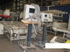 WEINIG UC MATIC 2000r. Linia do okien drewnianych Unimat 23 EL + Unicontrol 10