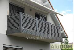 Nowoczesne balustrady aluminiowe