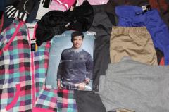 Îmbrăcăminte de stock