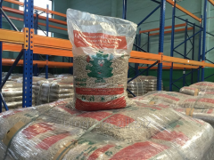 Pellets for export, wholesale and retail trade,