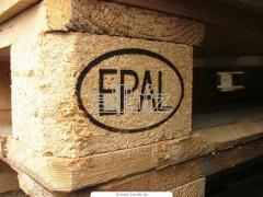 Paleta drewniana EUR EPAL - klocek drewniany