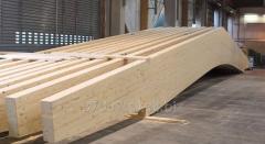 Drewno klejone warstwowo BSH