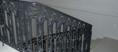 Kraty, balustrady i poręcze, Balustrady mostowe
