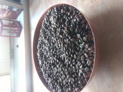 Kawa swiezo palona