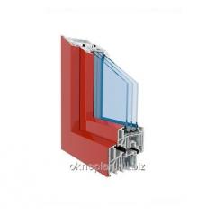 PVC window Aluclip