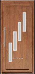 Drzwi wejściowe wypełnieniowe PCV Aparyt