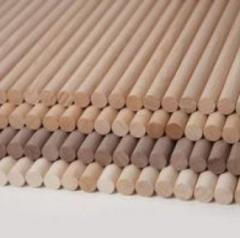 Kołki gładkie z każdego gatunku drewna