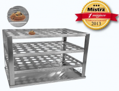 Stable, durable base bunk for baking muffins.