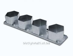 Trwałe formy cukiernicze aluminiowe w zestawach -