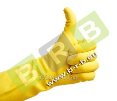 Rękawice gumowe gospodarcze