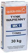 MK 1  / MK 1h Tynk wapienny maszynowy