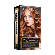 L'Oreal Preference hair dye - stock offer