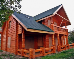 Timeless and healthy exclusive log houses...