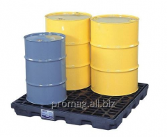 Pallets, cargo trays for transportation of barrels
