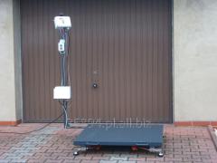 Waga elektroniczna platformowa do 3 ton