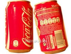 Coca cola w puszkach 330 ml