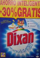 Dixan washing powder - 72 washes