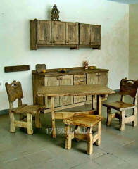 Decorative furniture, carved, made to order