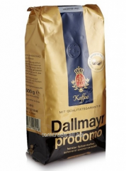 Dallmayr Prodomo of 100% Arabica coffee