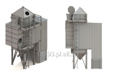 Grain dryers of tower type