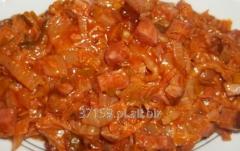 Klasyczne polskie danie pyszny bigos