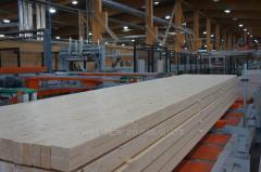 Glued profiled beam
