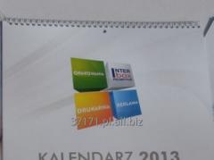 Flip calendars