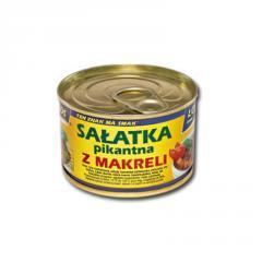 Sałatka pikantna z makreli 170 g EO