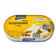 Filety śledziowe w oleju 170 g EO