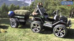 Çocuklar için akülü jeepler