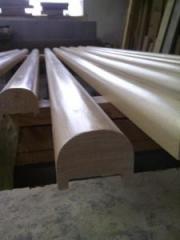 Balustrady, poręcze, pochwyty z drewna