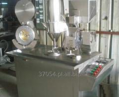 Kapsułkarka półautomatyczna do napełniania kapsułek żelatynowych 12 500-25 000 szt/h.