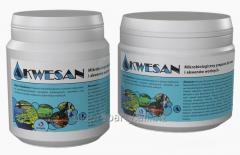 Akwesan - mikrobiologiczny preparat do oczek i akwenów wodnych.