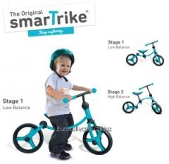 Детский беговой велосипед Smart-Trike 2 в 1
