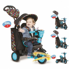 Bicycle-stroller for children Smart-Trike Boutique