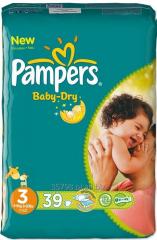 Pieluchy PAMPERS Baby Dry w super-promocyjnej
