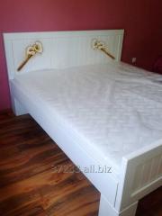 Łóżka z drewna
