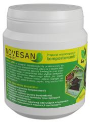 Accelerates composting - Novesan