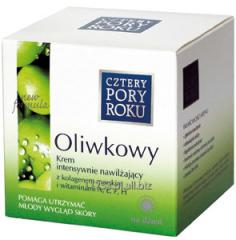 Krem oliwkowy na dzień - intensywnie nawilżający