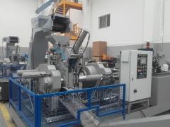 Brykieciarka do metalu i kordu stalowego z opon samochodowych AYMAS BP80T