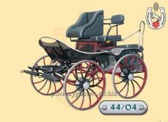 Perfectly finished sport carriage for enthusiasts