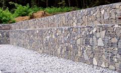 Gabions for bank stabilization