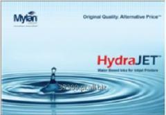 HydraJET tusze wodne do drukarek artamentowych, idealne do aplikacji dodatkowego nadruku.