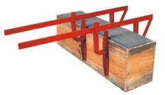 Clamps for formwork