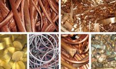Copper scrap and wastes