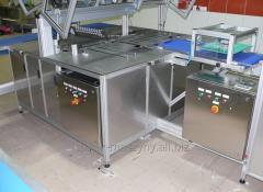 Slicer, production of wafers sandwiched, Polish