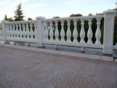 Polyvinyl chloride fence