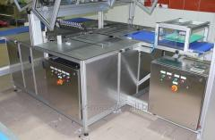 Pneumatic machines for cutting wafers